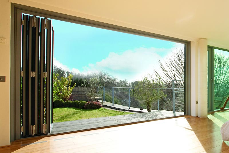 competitive price 3cbb4 dbd82 The Schuco folding sliding door is German engineering at its ...
